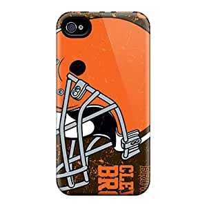 Protector Hard Phone Case For Iphone 6 With Support Your Personal Customized Vivid Cleveland Browns Image JasonPelletier