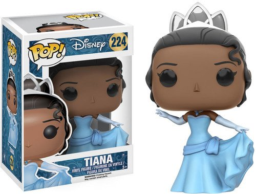 Funko POP Disney: Princess & the Frog - Tiana Action -