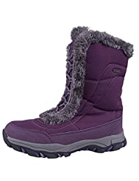 Mountain Warehouse Ohio Women's Snow Boot - , Textile Upper with Durable & Breathable IsoTherm Lining, Rubber Outsole - Designed for superior fit and comfort