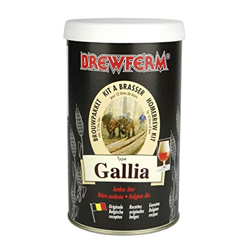 Kit Cerveza Gallia - Brewferm Hecho por mi 056.051.6