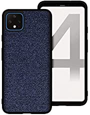 Proze Google Pixel 4 XL Phone Case, Fabric Finish Hard TPU Case for Pixel 4XL