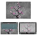 Best Cover Cases For Lenovo IdeaPads - Decalrus - Protective Decal Floral Skin Sticker Review