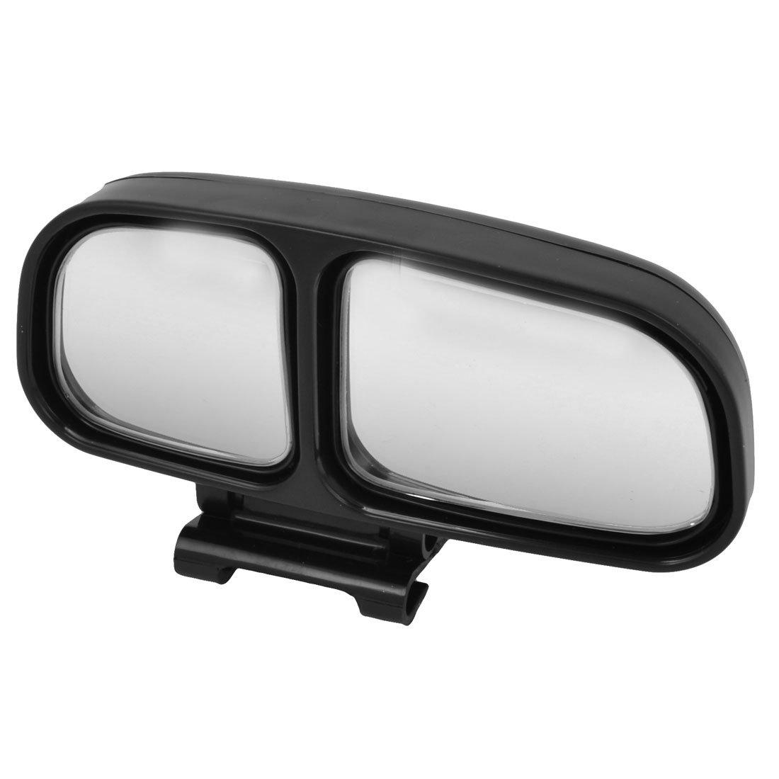 sourcingmap de Coche Camió n Derecho Retrovisor Doble Espejo de Punto Ciego Negro a14051200ux0515