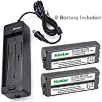 Kastar Battery x2 + Charger BG-CP200 for Canon NB-CP1L NB-CP2L & Compact Photo Printer SELPHY CP100 CP200 CP220 CP300 CP330 CP400 CP510 CP600 CP710 CP730 CP770 CP780 CP790 CP800 CP900 CP910 CP1200