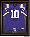 LSU Tigers Brown Framed Logo Jersey Display Case