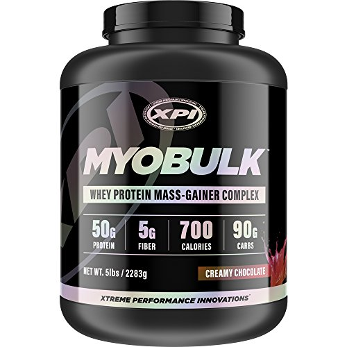 (MyoBulk (Chocolate) 5LBS, Weight Gainer - Gain Pounds of Lean, Well-Defined Muscle - Best Protein Powders)