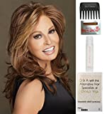 Bundle - 5 items: Spotlight by Raquel Welch Wig, 15 Page Christy's Wigs Q & A Booklet, Wig Shampoo, Wig Cap & Wide Tooth Comb (Color Selected: RL1012)