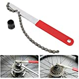 freewheel cycling - QIXINSTAR Bike Bicycle Freewheel Turner Chain Whip Cassette Sprocket Remover Tool