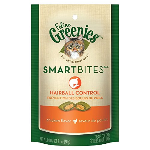 FELINE-GREENIES-SMARTBITES-Hairball-Control-Cat-Treats-Chicken-Flavor-21-oz