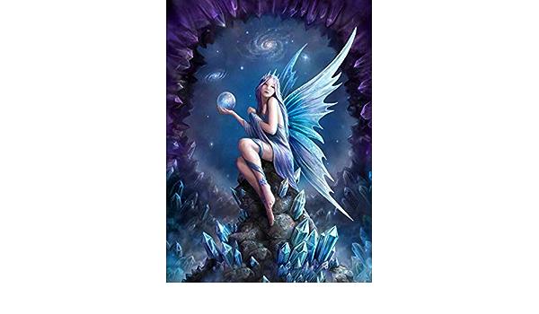 5D DIY Diamond Painting Kit Full RoundSquare \uff0cReligious Angel Diamond Embroidery Cross Stitch Kit \uff0cHome Decor