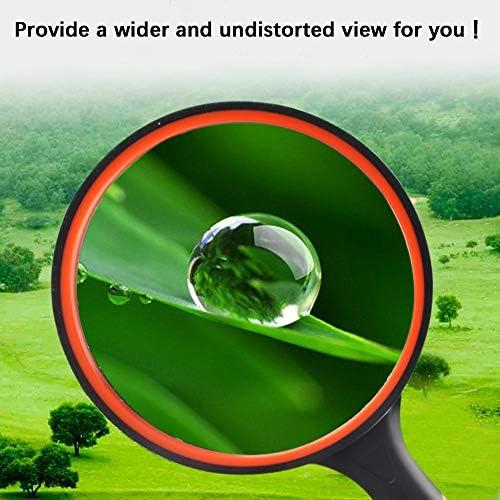 10 pezzi colore: verde per lettura e riviste Lente dingrandimento portatile in vetro ad alta definizione