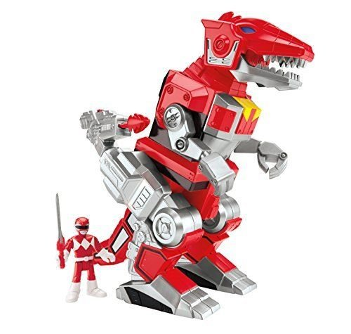 Fisher-Price Imaginext Power Rangers Red Ranger And T-Rex Zord .HN#GG_634T6344 G134548TY68408 by Anajosily
