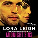 Midnight Sins Audiobook by Lora Leigh Narrated by Clare Claremont