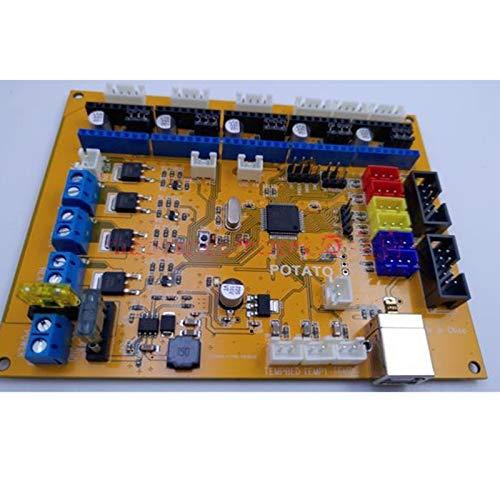La placa base de la impresora 3D Potato STM32 de 32 bits admite ...