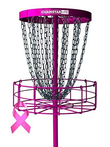 Discraft Chainstar LITE 24-Chain Disc Golf Basket - Pink by Discraft