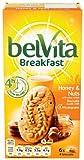 Belvita Breakfast Honey Nuts 6x4 Biscuits, 300g (Pack of 10)