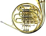 Monel Rotors Bb/F 4 Keys Double French Horn w/Case