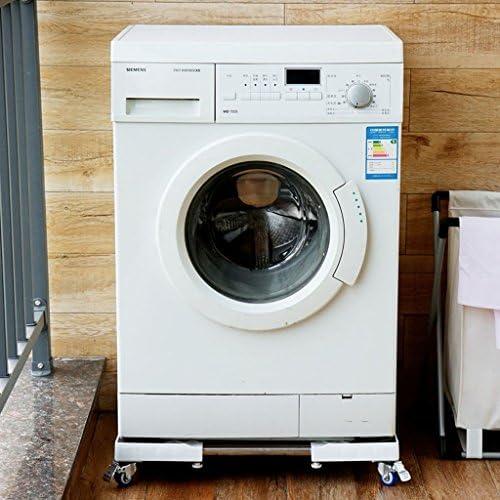 ChenCheng 洗濯機ベースブラケット、モバイルユニバーサルホイール冷蔵庫トレイブラケット、固定伸縮ベース、45-68.5cm * 51-73cm * 11.3cm household products