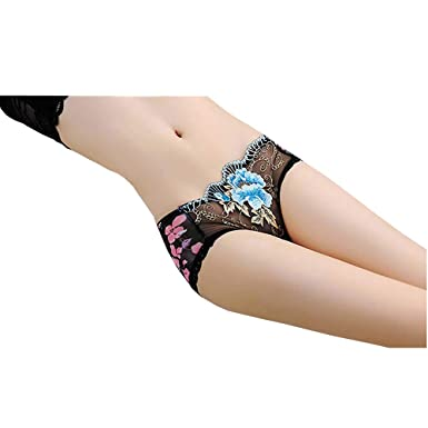 b365d8e2c49a littledesire Sexy Boyshort Transparent Lace Panty (Polyester, Medium ...