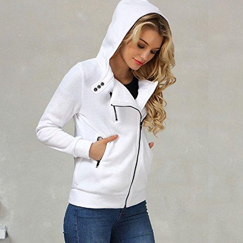 BlingNicer Nice New Winter Jacket Women Hoodies Casual Solid Long Sleeve Zipper Thicken Mujer Sweatshirts Sudaderas Trancksuits Coat Outwear Rhodo XXL at ...