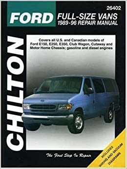 ford e wiring diagrams chilton s repair on