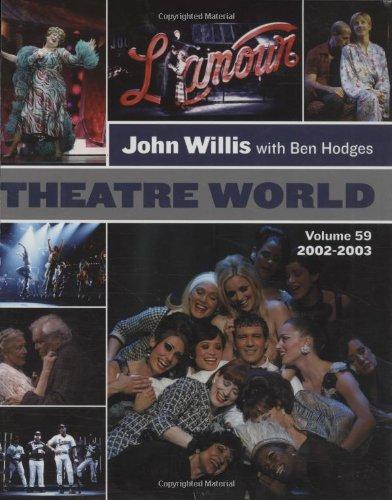 Theatre World Volume 59 - 2002-2003: Hardcover pdf epub