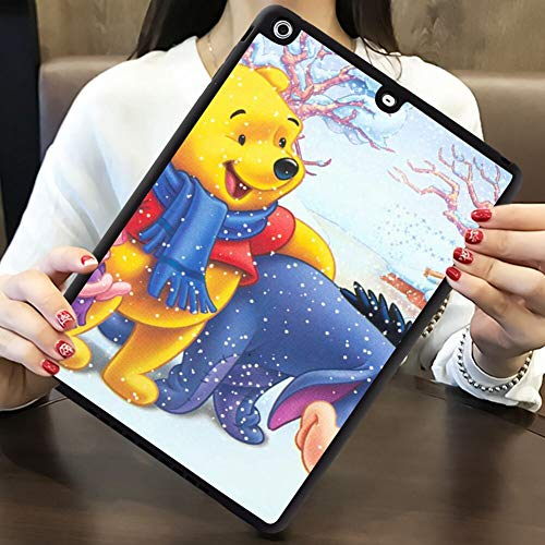 DISNEY COLLECTION iPad Air [2013] and iPad 5 [2013] 9.7in Shell Cover Case Eeyore Winnie The Pooh and Piglet Cartoon Walt Disney Christmas HD Wallpaper