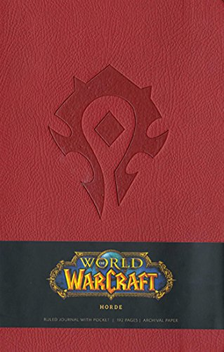 World of Warcraft Horde Hardcover Ruled Journal (Large) (Gaming)