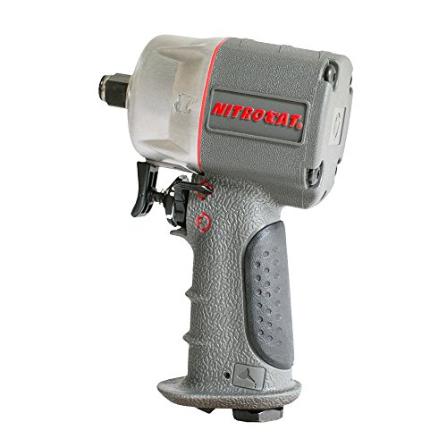 AIRCAT 1056-XL Kevlar Composite Compact Impact Wrench, 1/2