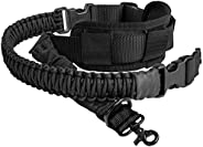 550 Paracord 2 Point Rifle Sling Gun Strap with Shoulder Pad Adjustable Two Point Sling