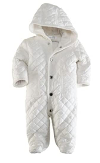 681b24c95c69 Amazon.com   Ralph Lauren Baby Girls White Barn Bunting Coverall ...