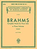 Complete Works for Piano Solo - Volume 1 (Schirmer's Library of Musical Classics)