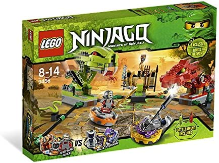 LEGO Ninjago Exclusive Set #9456 Spinner Battle