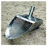 CooB Sand Scoop for Metal Detecting Hexagon 7 Beach Metal Detector Hunting Tool Stainless Steel