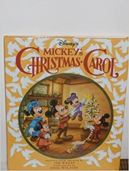 Mickeys Christmas Carol Book.Disney S Mickey S Christmas Carol Based On A Christmas