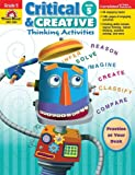 Critical and Creative Thinking Activities, Grade 5, Evan-Moor, 1596734051