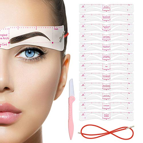 Eyebrow Stencil,Eyebrow Shaper Kit,21