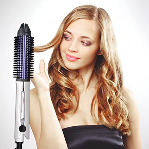 4-in-1 Keramik Haarglätter Lockenstab mit Hitze-Einstellungen, 360° Anwendung, hitzebeständig, auch für professionelle Anwendungen