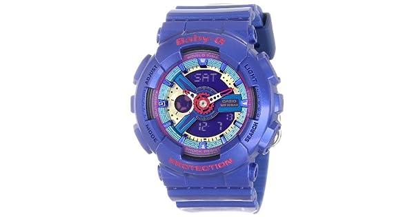 Amazon.com: G-Shock BA-112 – 2 acr ba-110 Baby-G Blue Series ...