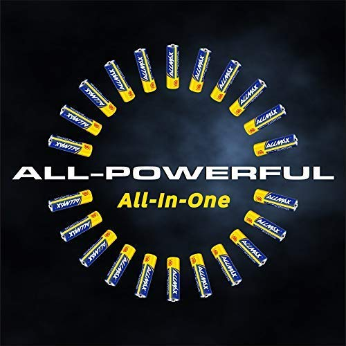 ALLMAX All-Powerful Alkaline Batteries - AA (100-Pack) - Ultra Long Lasting and Leak-Proof, All-Purpose for Household and Business by ALLMAX (Image #4)