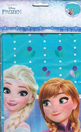 Frozen Tischdecke Kunststoff Geburtstagskarte Eiskönigin