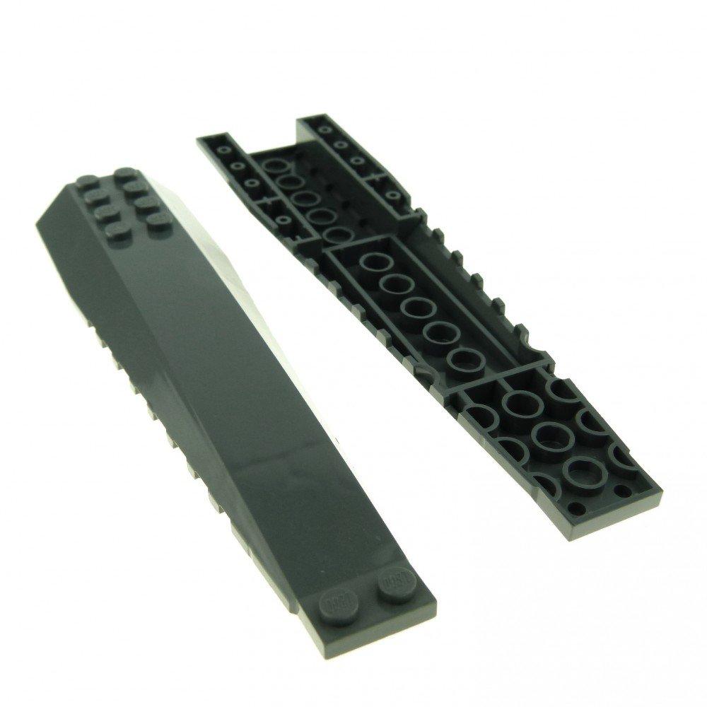 1 x LEGO® 45301 Flügelplatte 16x4 neudunkelgrau gebraucht.