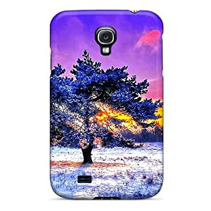 Ultra Slim Fit Hard Doompson Case Cover Specially Made For Galaxy S4- Alone In Coldness