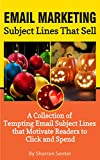 Email Marketing - Subject Lines that Sell