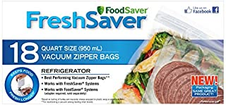 Foodsaver FSFRBZ0216-033 Quart Size Zipper Bags (B0048BPWHI) | Amazon price tracker / tracking, Amazon price history charts, Amazon price watches, Amazon price drop alerts