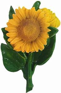 3D Sunflower Fridge Magnet Home Kitchen Decoration Magnetic Sticker Food Refrigerator Magnet Collection