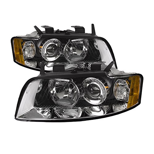 HEADLIGHTSDEPOT Compatible with Audi Generation 2 Non Hid Headlights Headlamps Driver/Passenger Pair New
