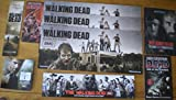 WALKING DEAD #75 Promo Poster, Zombies, 9 Promo Cards / misc, 3 buttons, 1 2