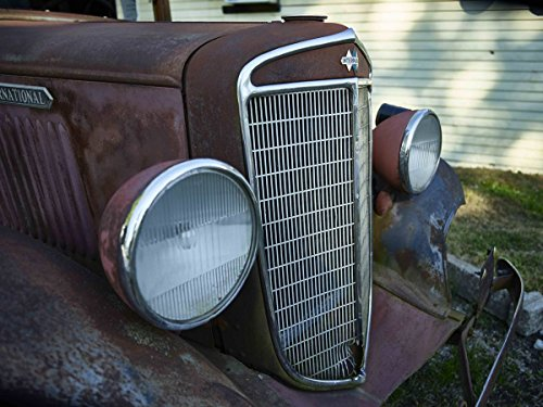 Photograph| Old, rusted truck outside the Cutler General Store in the Carroll County, Indiana, settlement of Cutler 3 Fine Art Photo Reproduction 44in x 32in