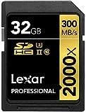 Lexar Professional - Tarjeta de memoria 2000x SDHC de 32 GB